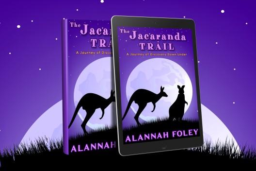 The Jacaranda Trail - ebook & paperback cover